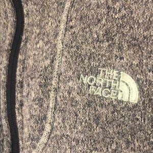 North Face zip up fleece